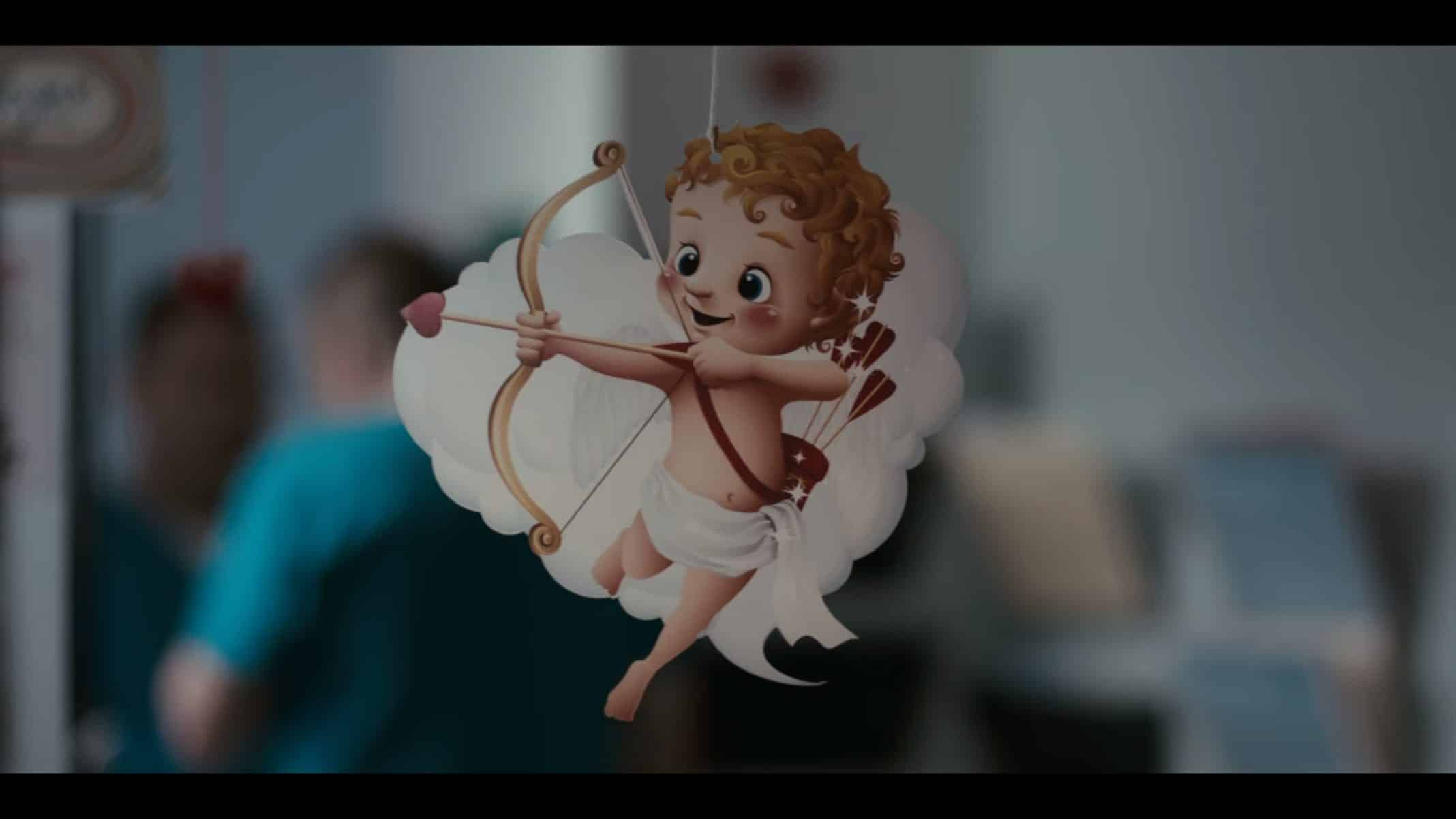 Baby Cupid in Grand Army