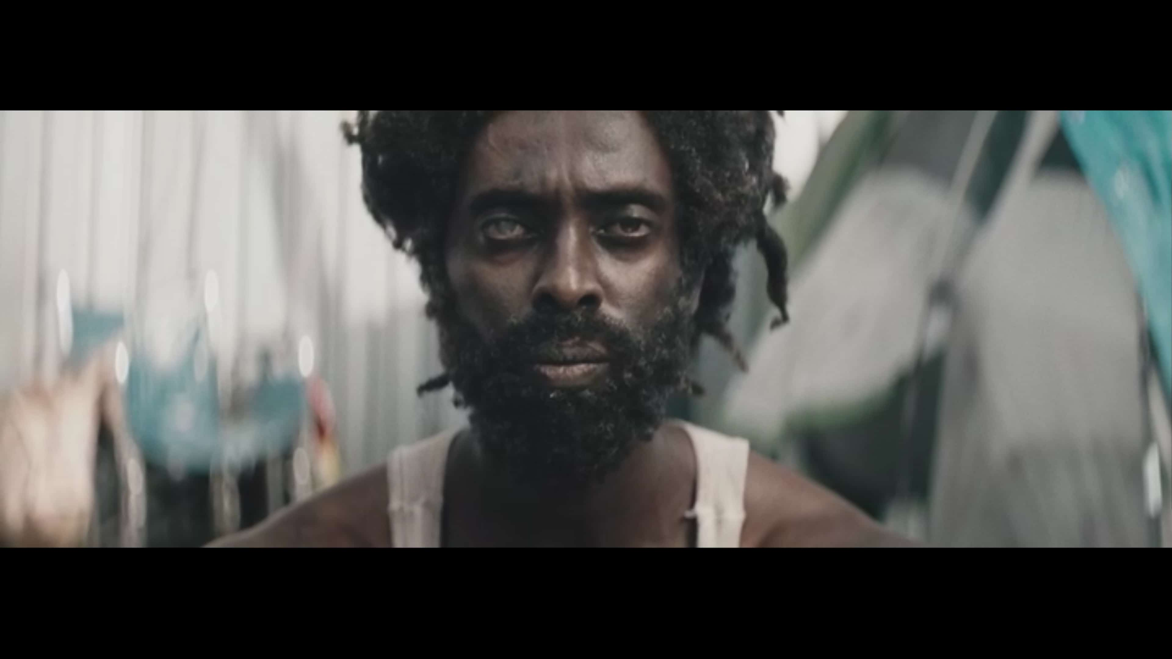 Bo (Edi Gathegi) after being homeless