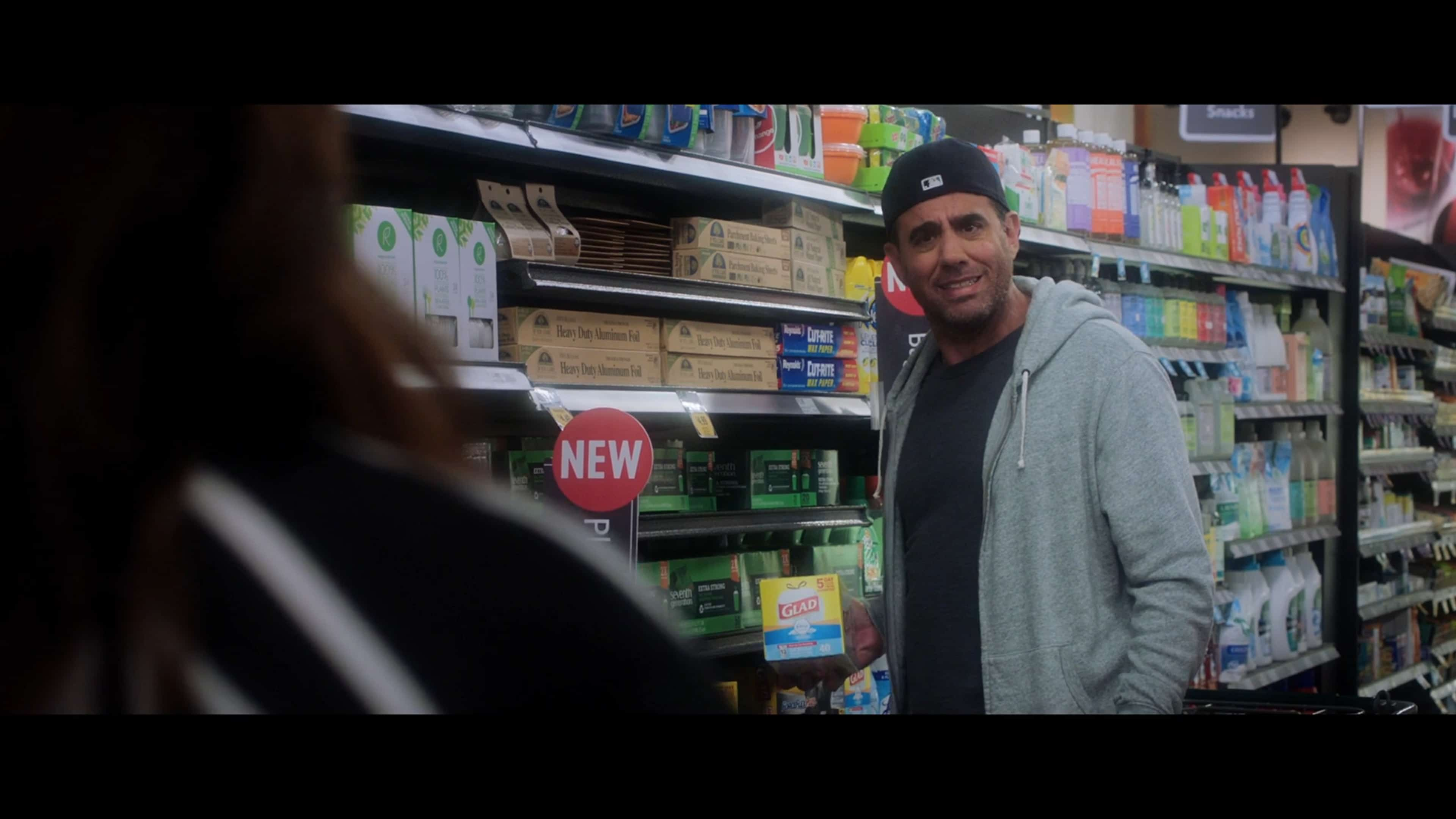 George (Bobby Cannavale) at the supermarket.