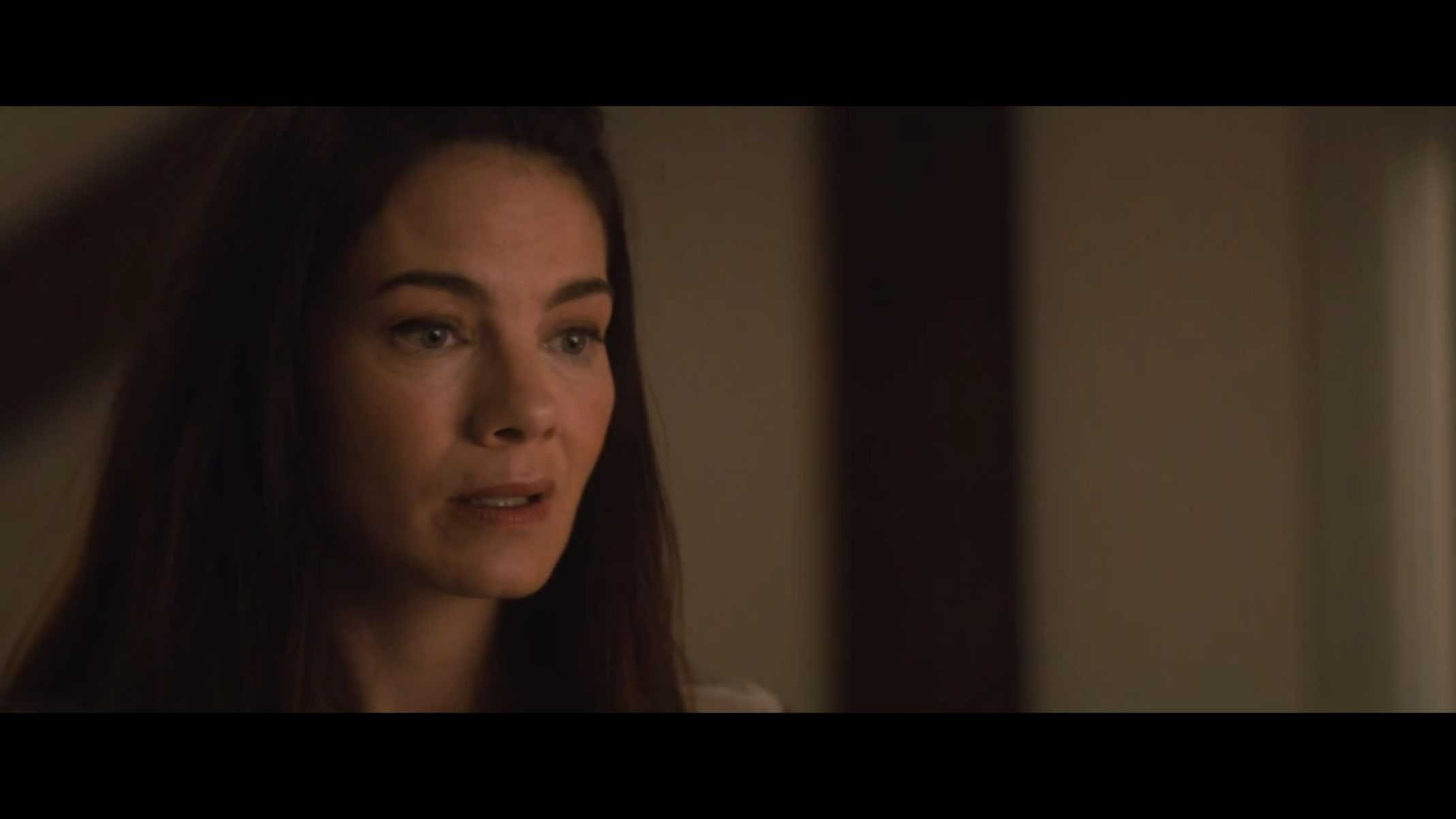 Helen (Michelle Monaghan) dealing with what is being said to her
