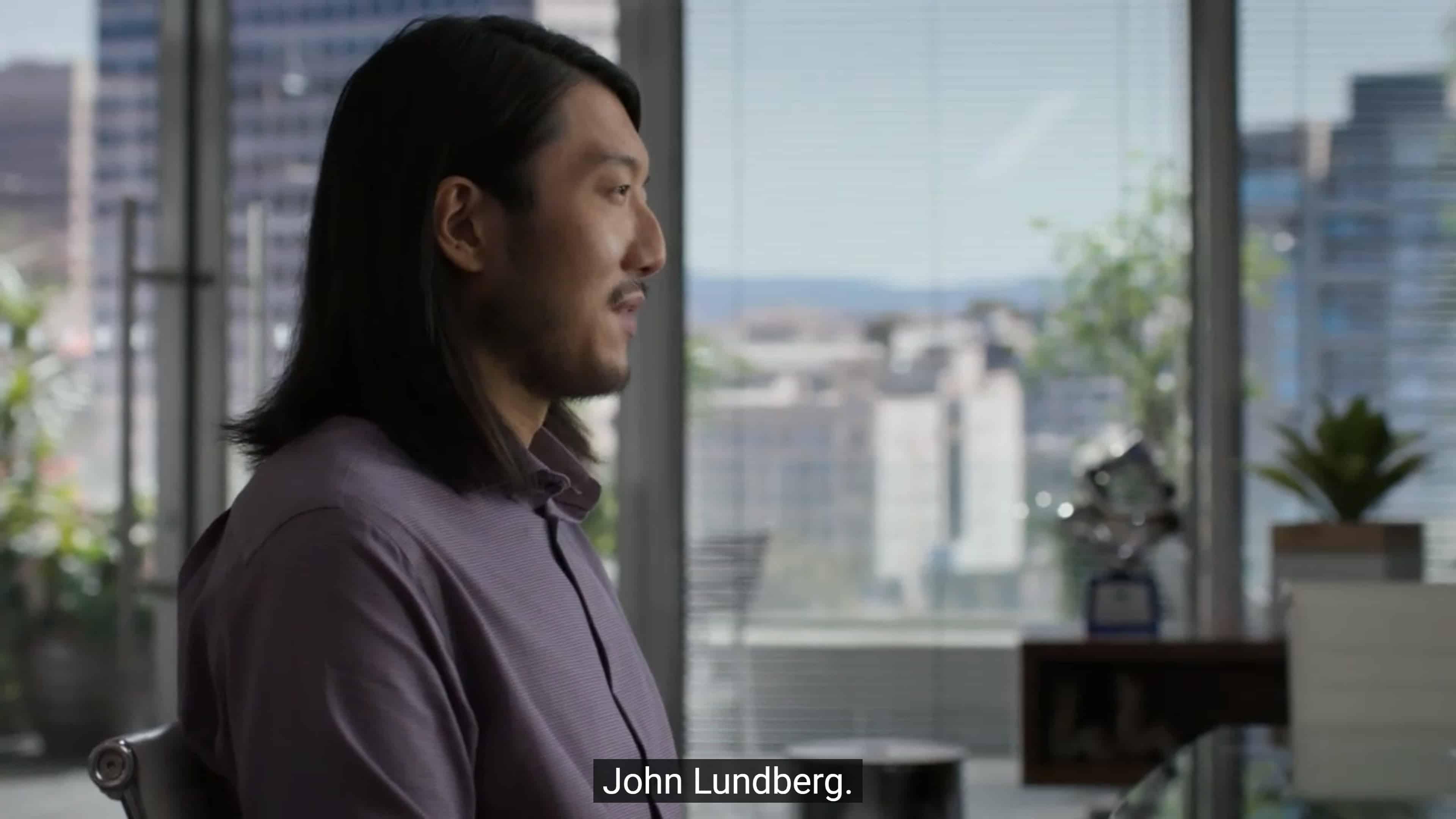 John (Michael Liu) introducing himself