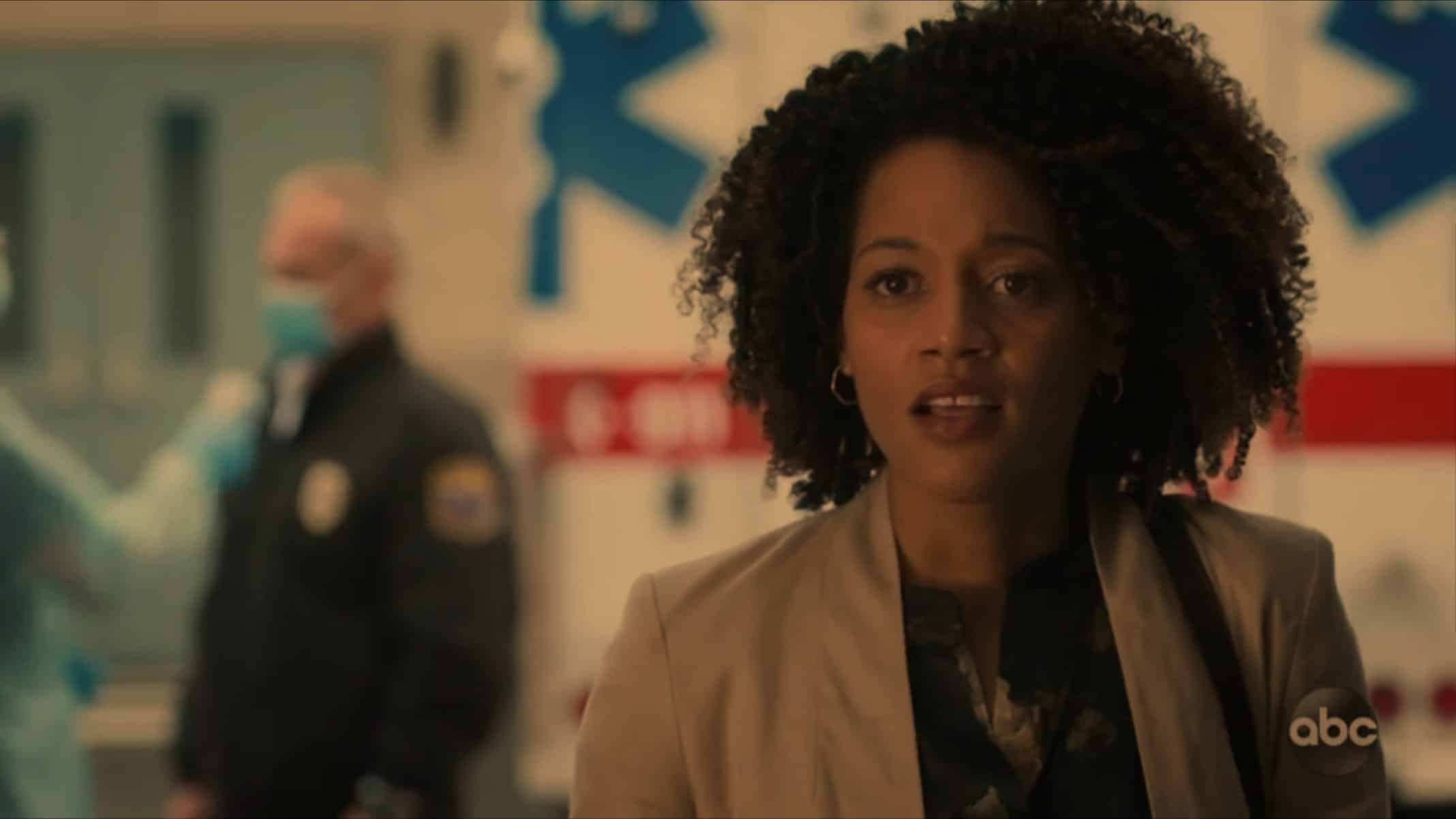 Rochelle (Bethany Brown) who is Mildred's daughter