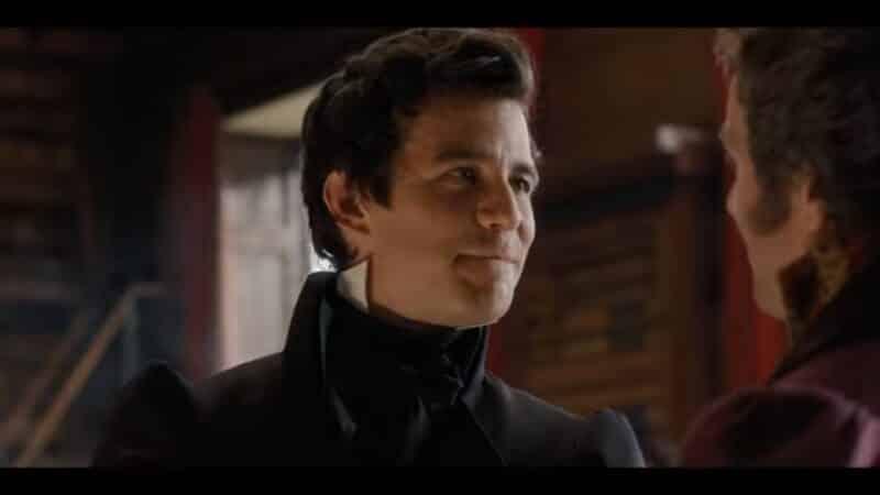 Benedict (Luke Thompson) talking to Henry