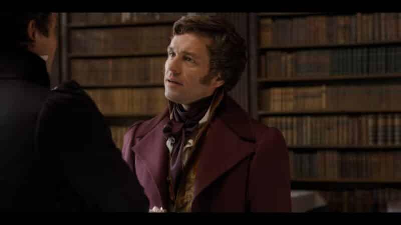 Henry (Julian Ovenden) talking to Benedict