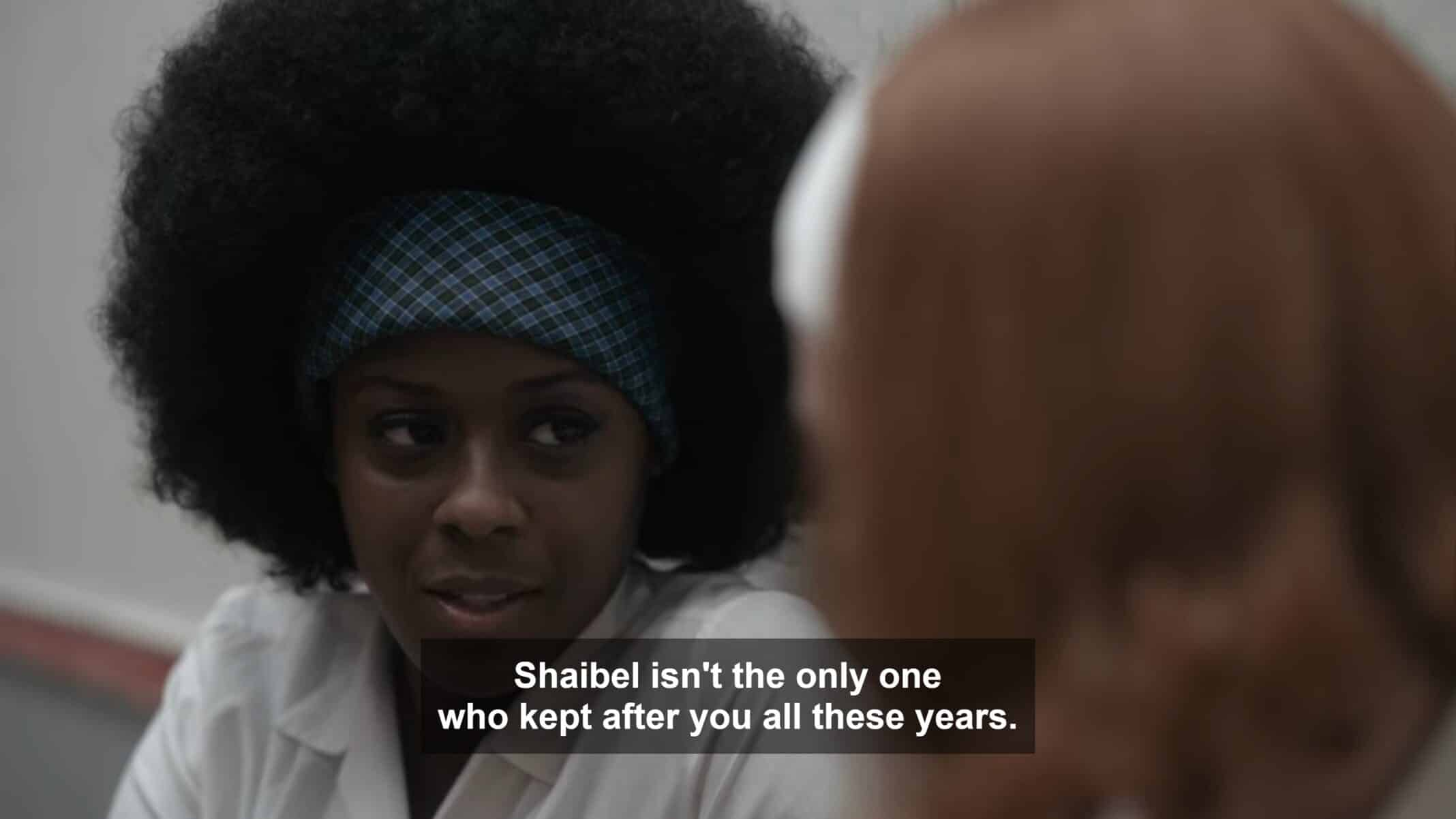 Jolene noting it wasn't just Mr. Shaibel who kept up what was going on in Beth's life