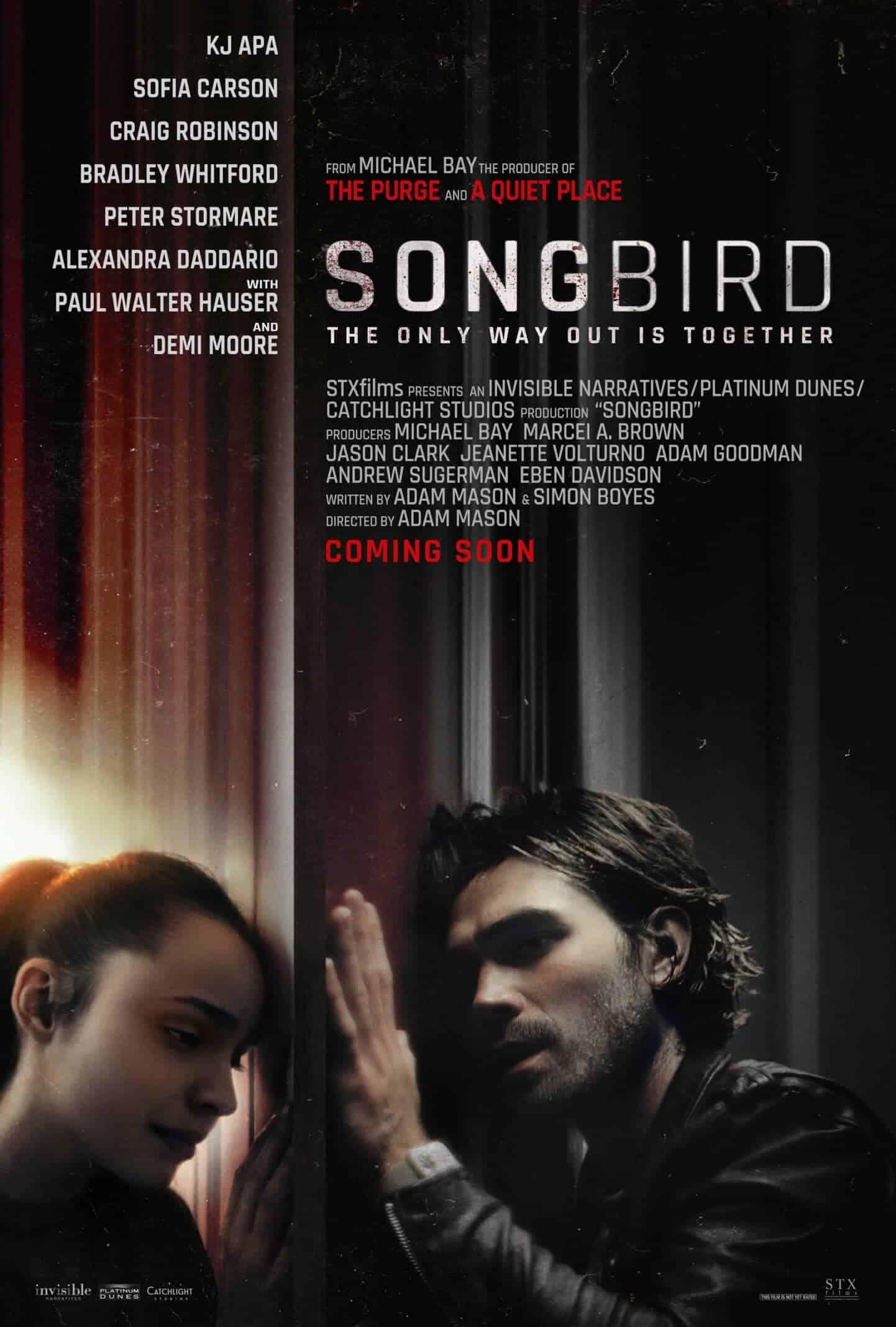 Movie Poster - Songbird
