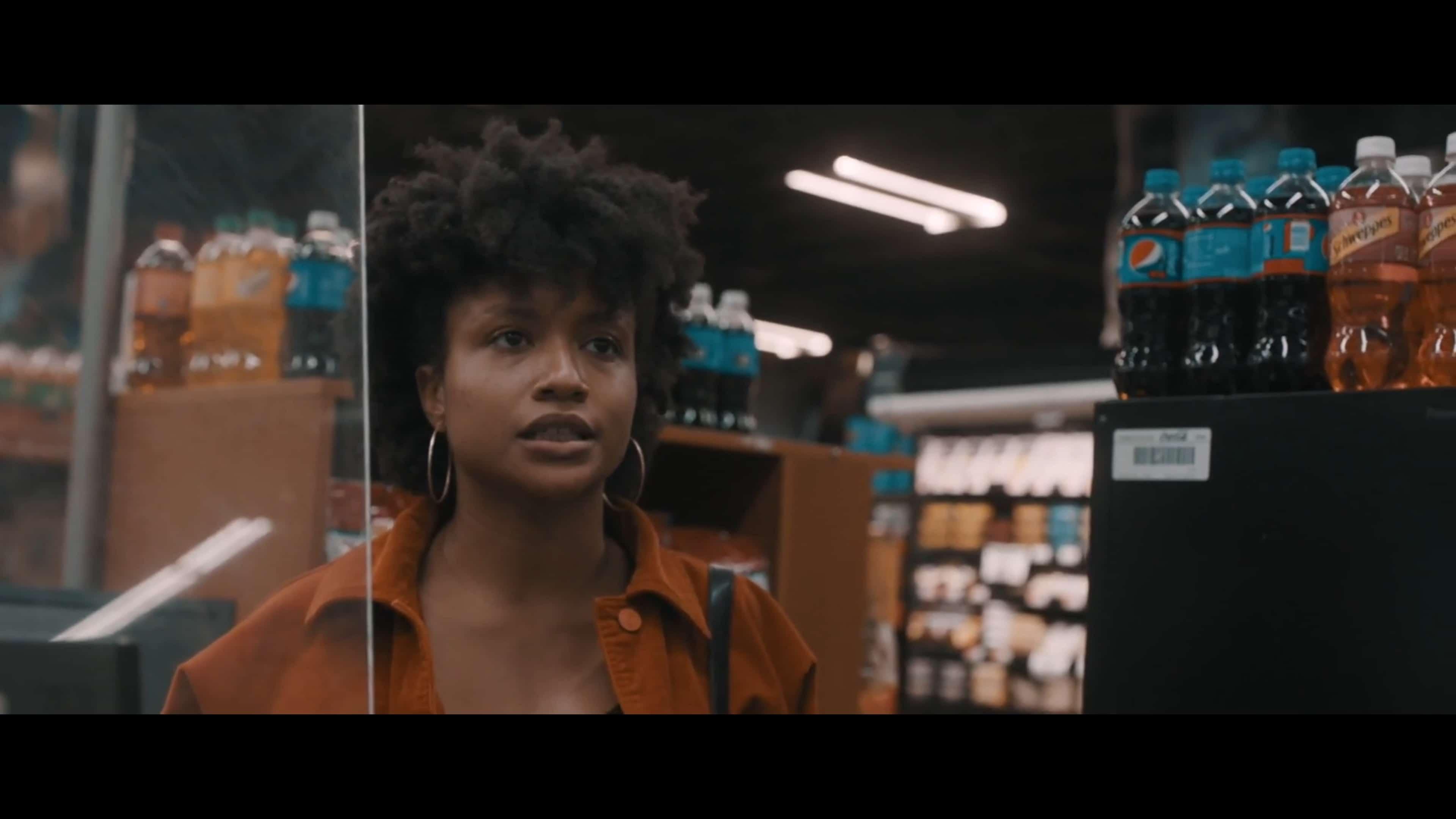 Nakea (Nicolette Ellis) talking to Josiah