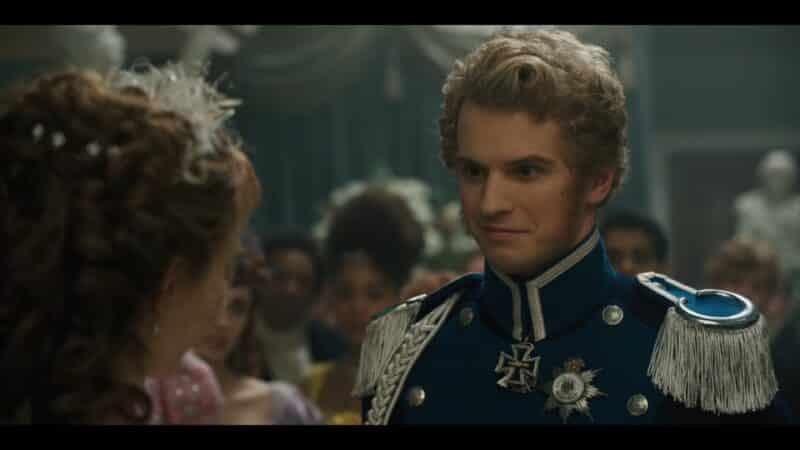 Prince Friedrich (Freddie Stroma) of Prussia