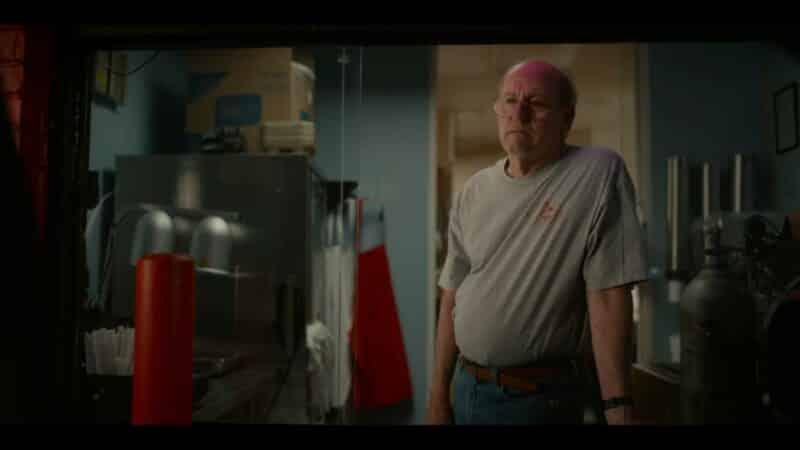 Stanley (Richard Jenkins) at work