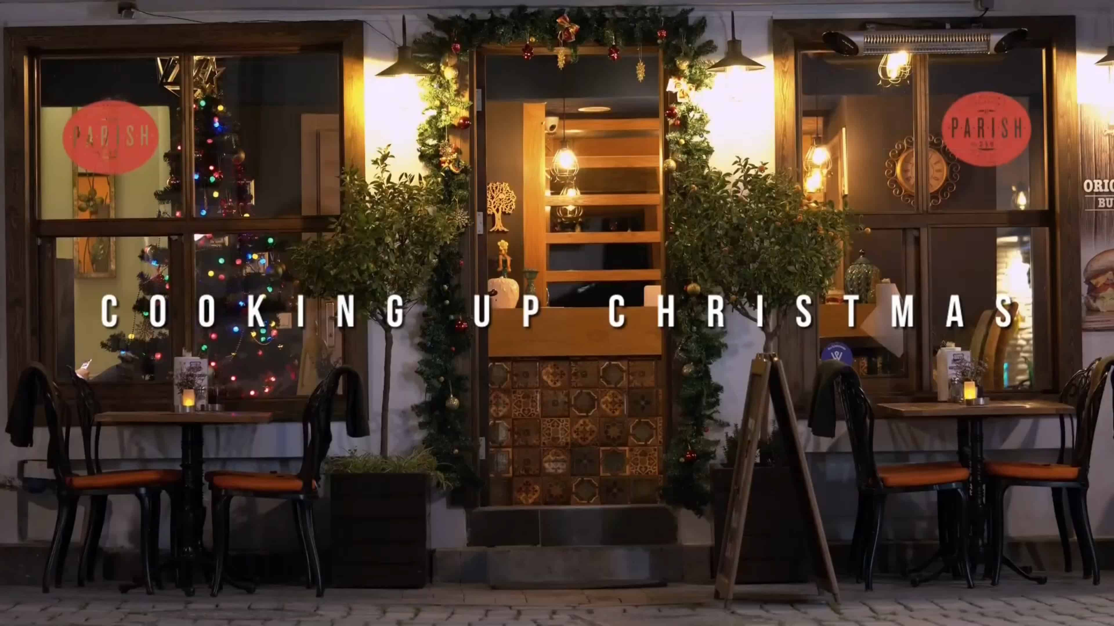 Title Card - Cooking Up Christmas