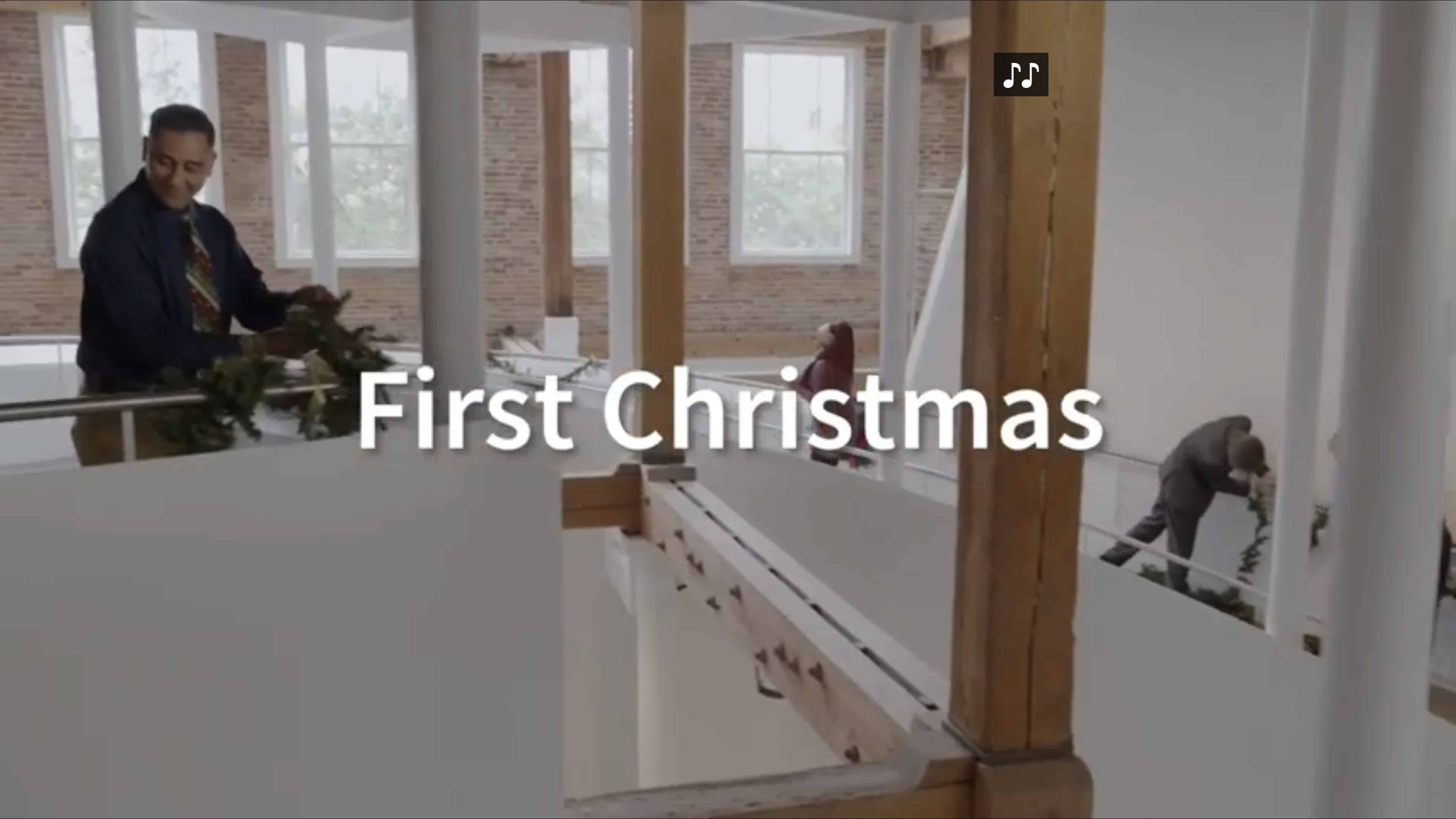 Title Card - First Christmas