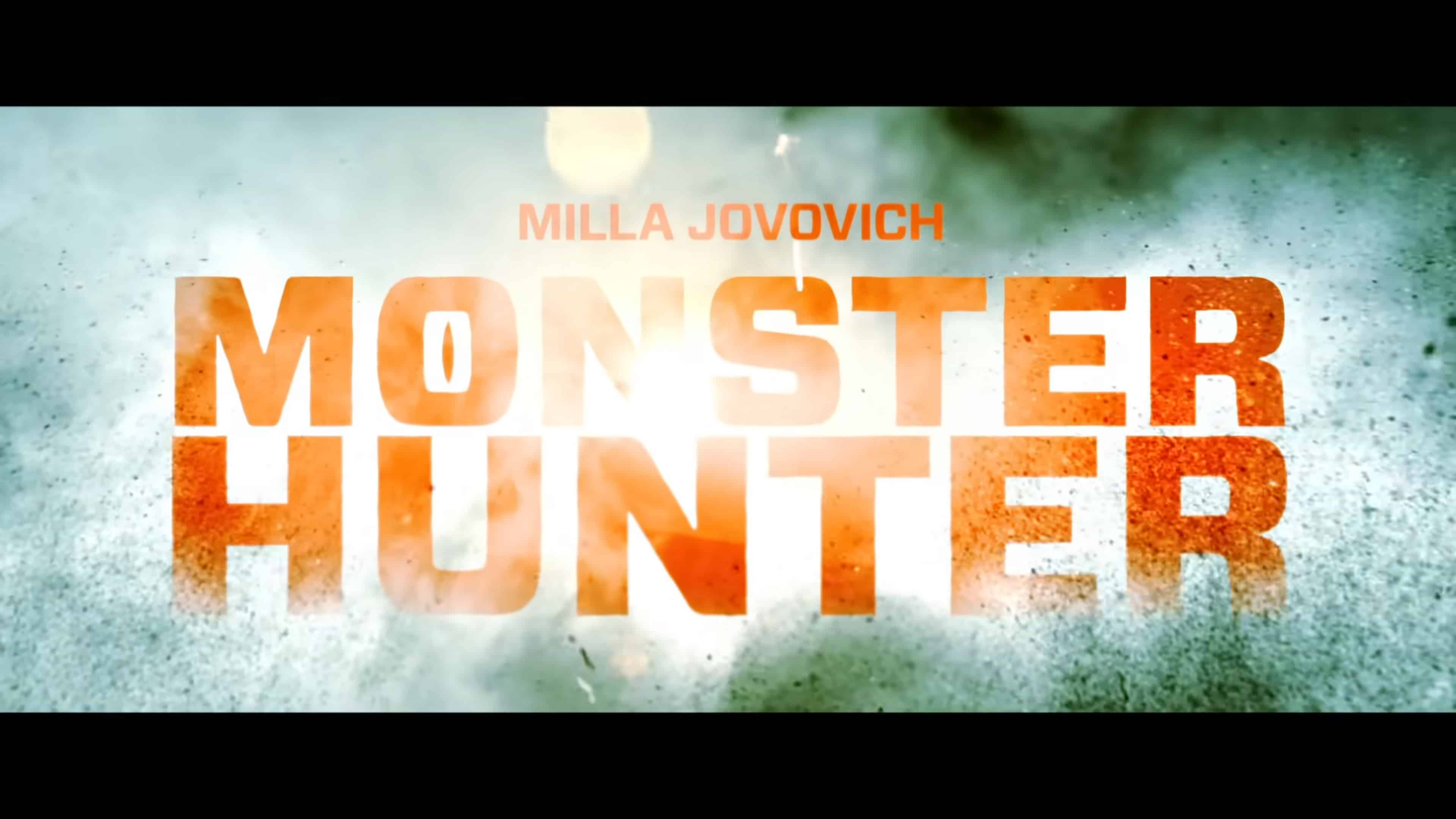 Title Card - Monster Hunter