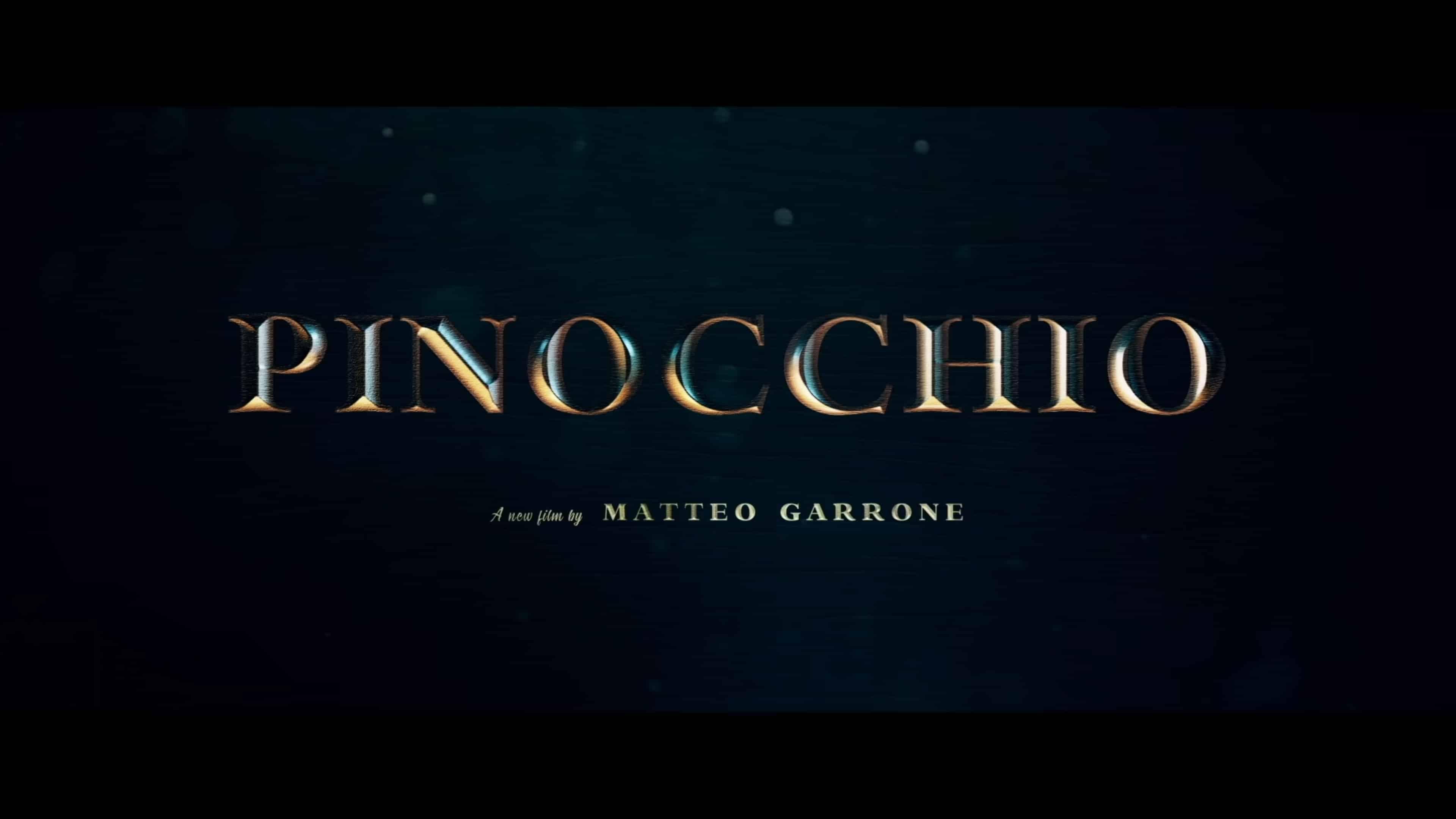 Title Card - Pinocchio (2020)
