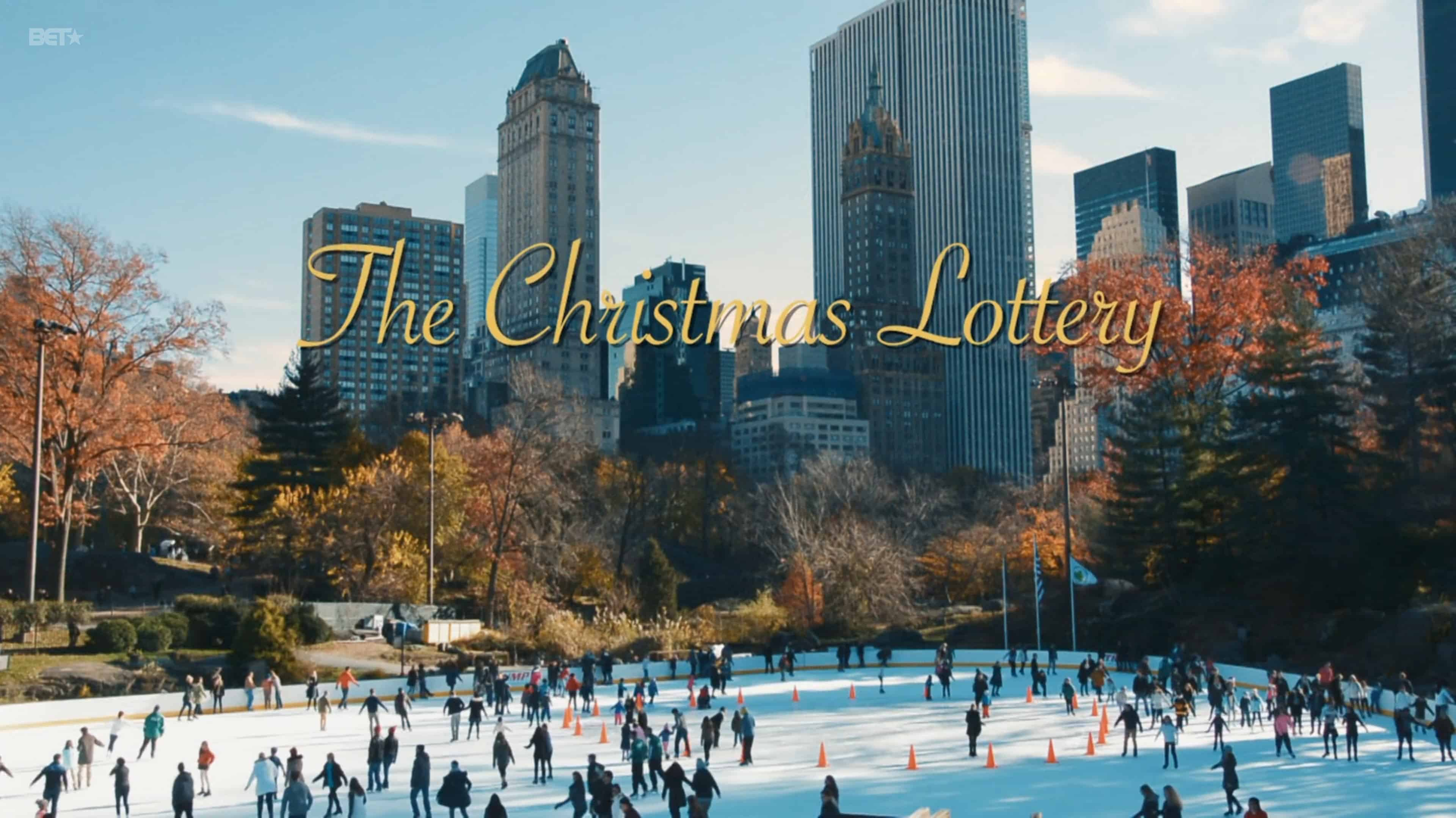 Title Card - The Christmas Lottery