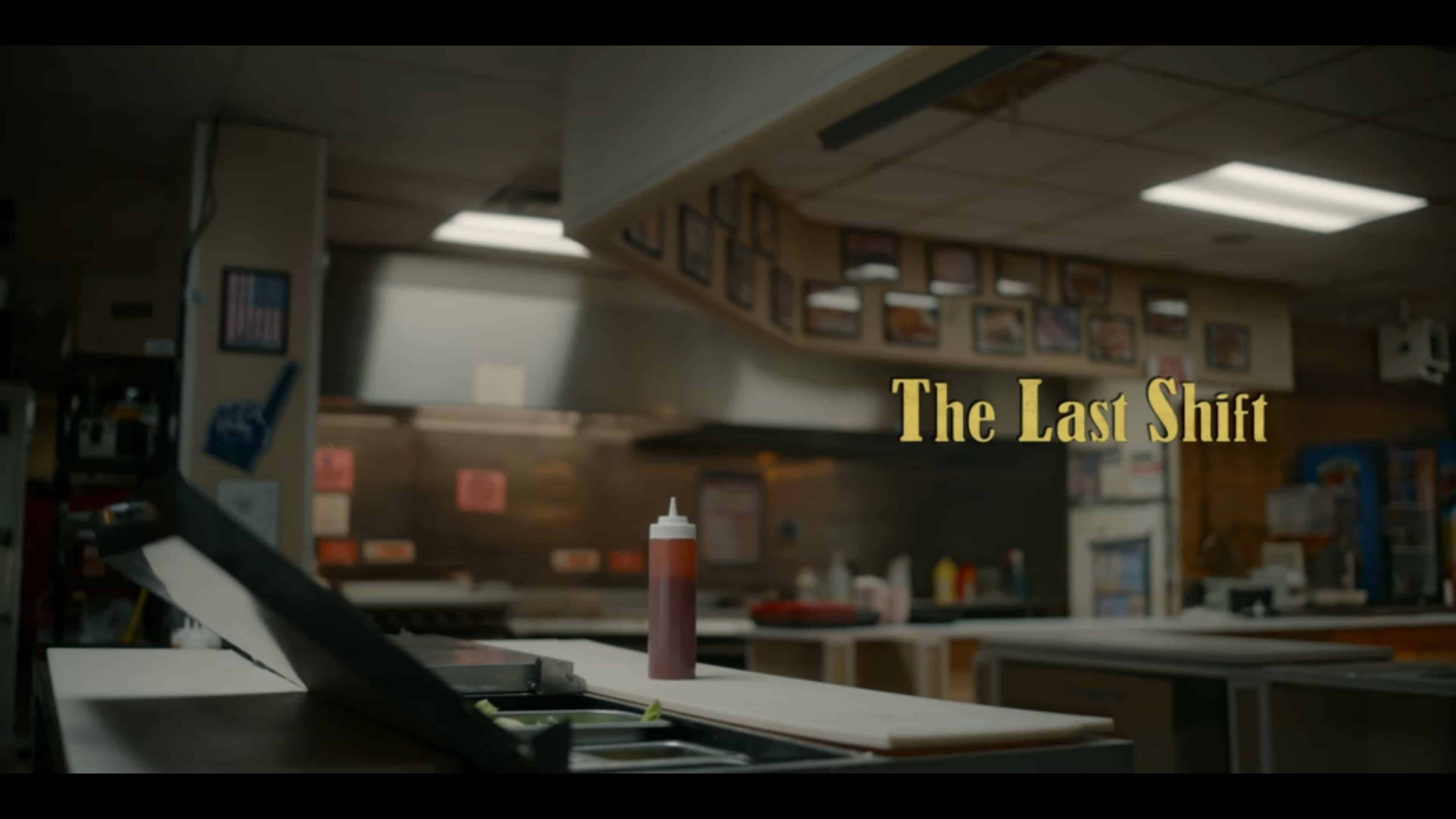 Title Card - The Last Shift