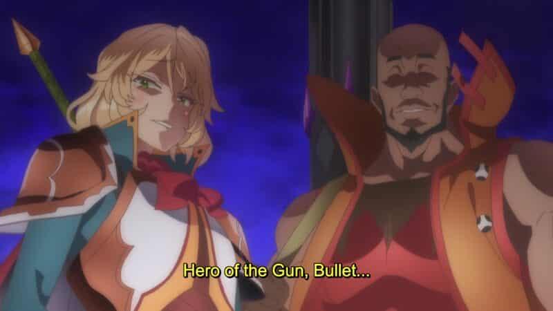 Blade (Mami Fujita) and Bullet (Tetsu Inada) being introduced