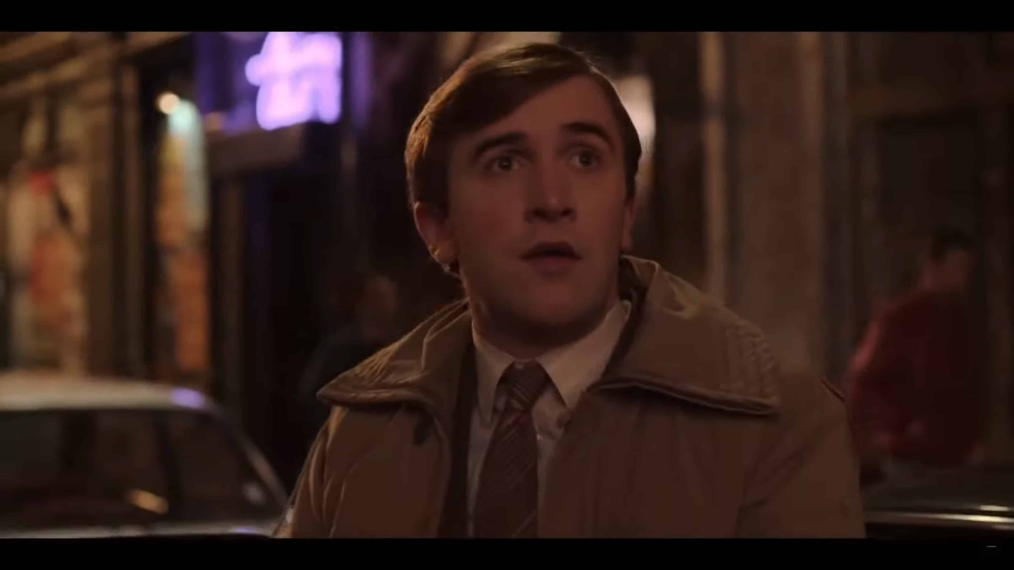 Colin (Callum Scott Howells) out on a city street