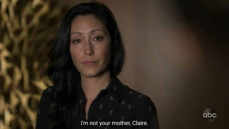 Dr. Lim reminded Claire she isn't her mother or some project for her