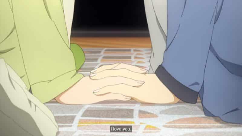 Miyamura saying he loves Hori