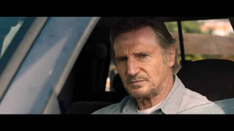Jim (Liam Neeson) in his truck
