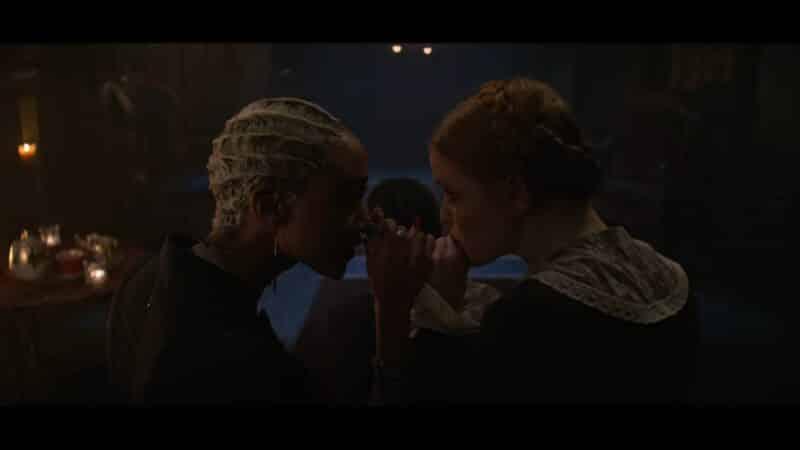 Prudence and Dorcas rekindling their bond