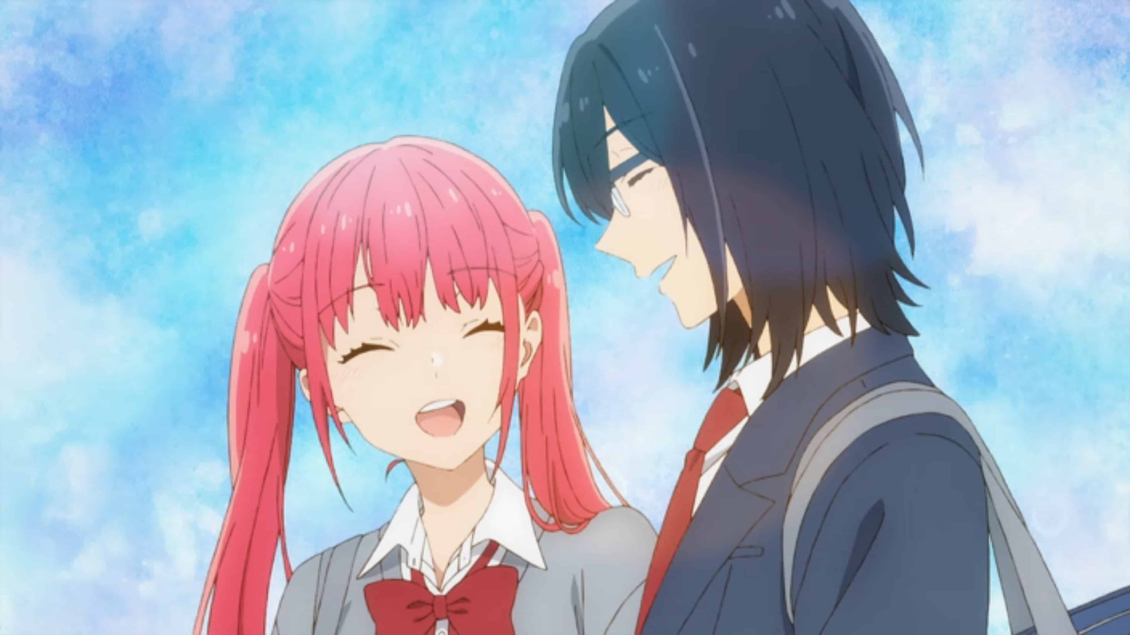 Remi and Miyamura laughing together