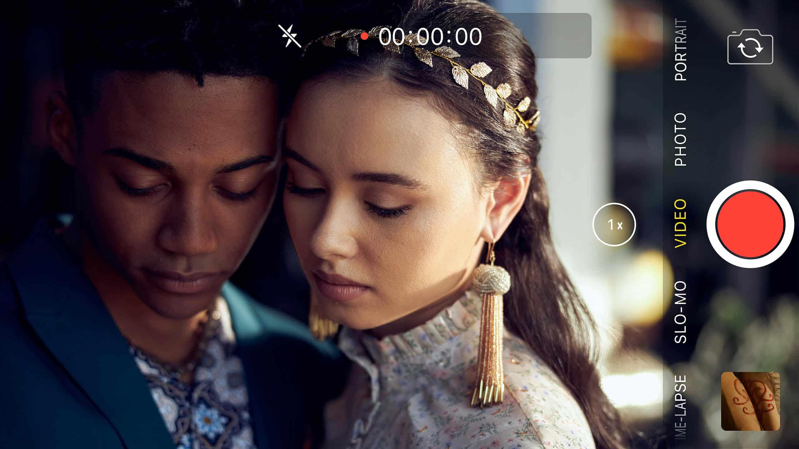 Romeo (Camaron Engels) and Juliet (Francesca Noel) after getting branded