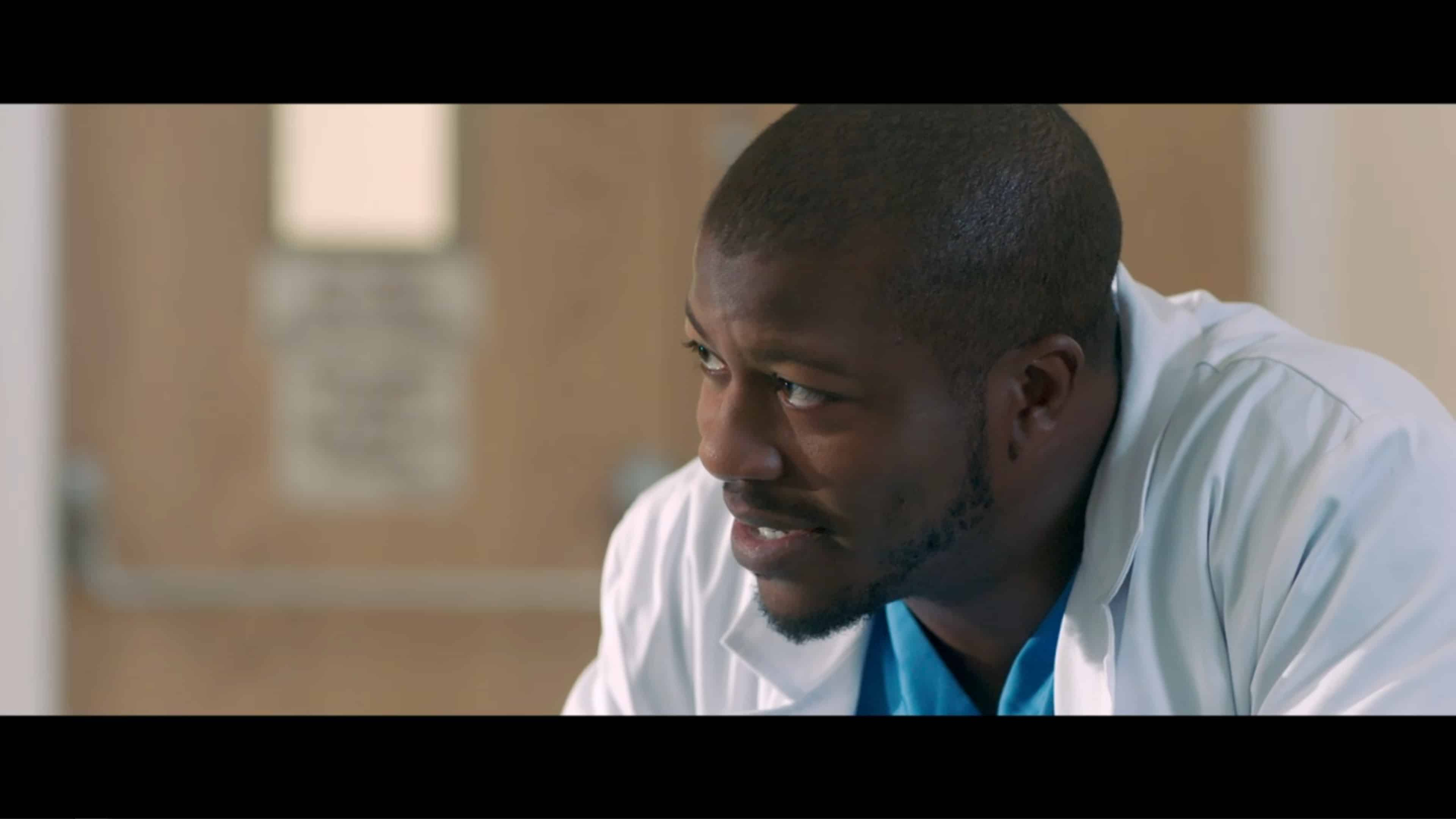 Walter (Edwin Hodge) talking to Patricia