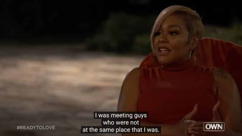 Wynter noting that, before the show, she was meeting guys not in the same place as her, and not realizing she is still doing so