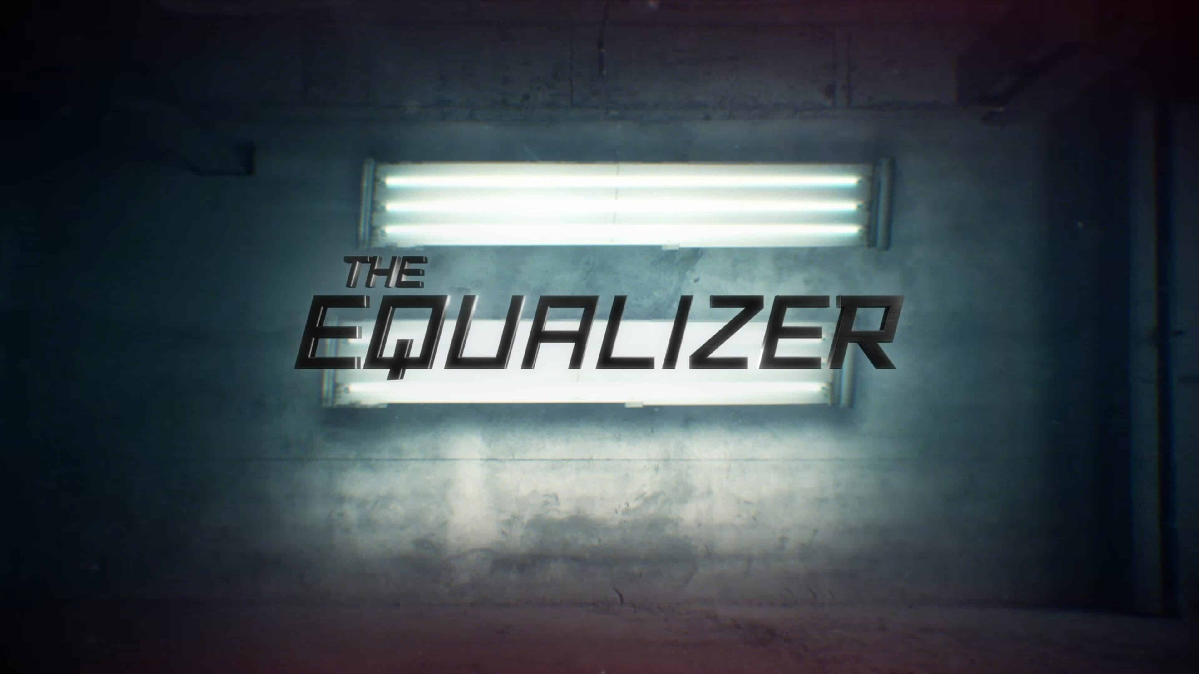 Alternate Title Card for The Equalizer