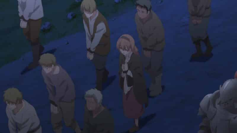 Anna (Nishi Asuka) being taken with other people from her village.