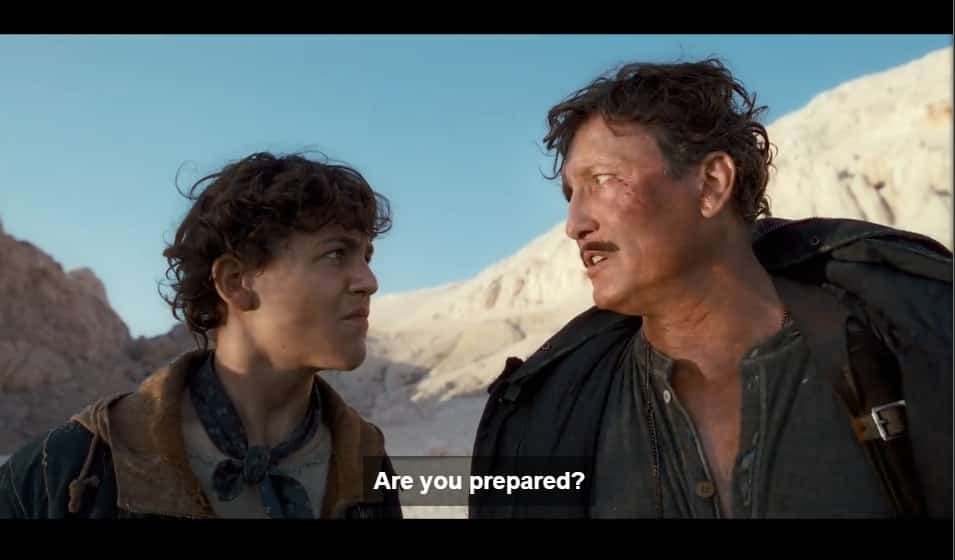 Moses asking Elja if he is prepared