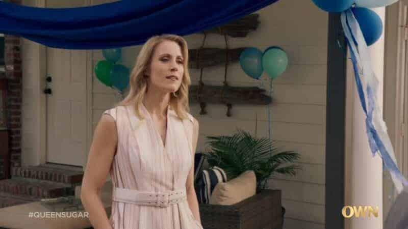 Hailey (Molly Berg) confronting Calvin and Nova