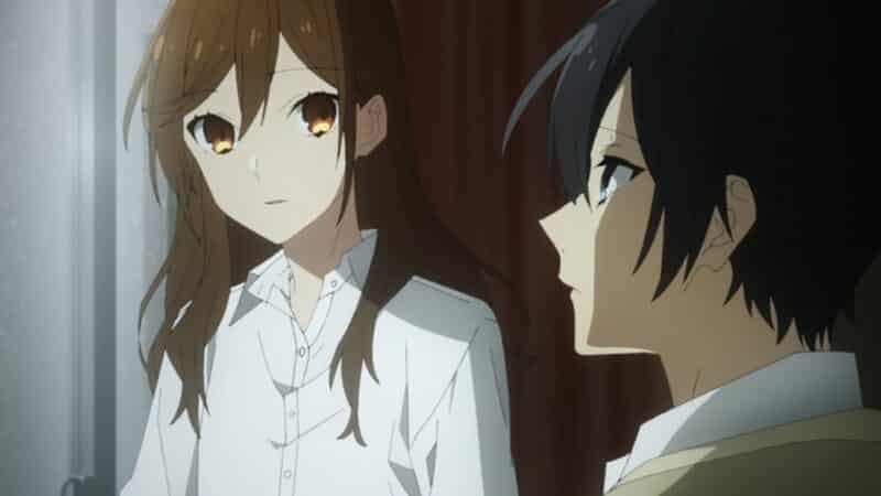 Izumi and Kyoko having a intimate moment
