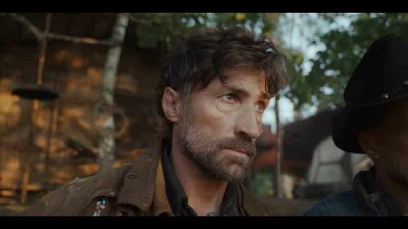Jakob (Benjamin Sadler) looking off screen