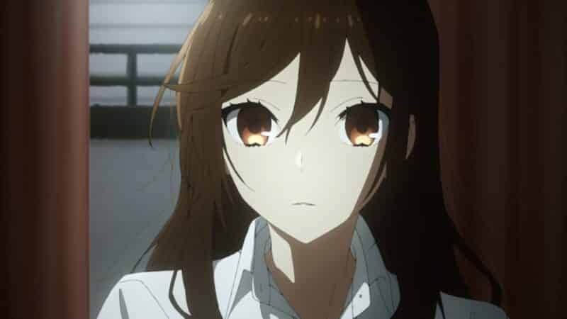 Kyoko's face
