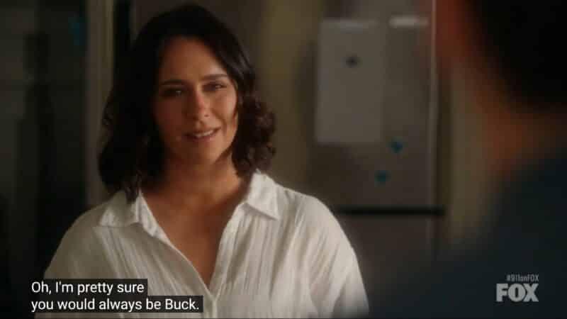 Maddie loving Buck