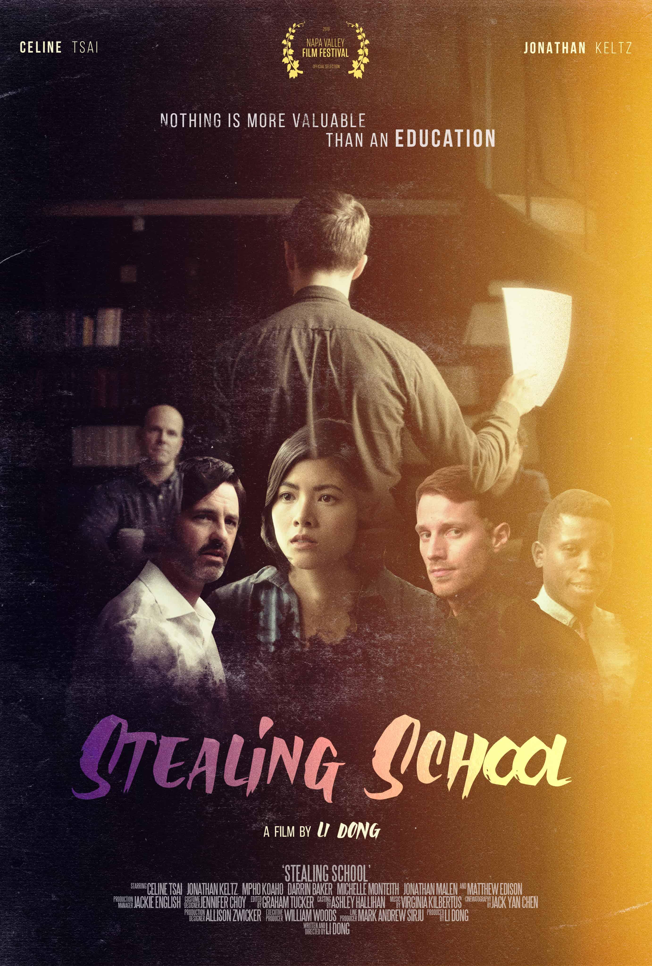 Poster - Stealing School (2021)