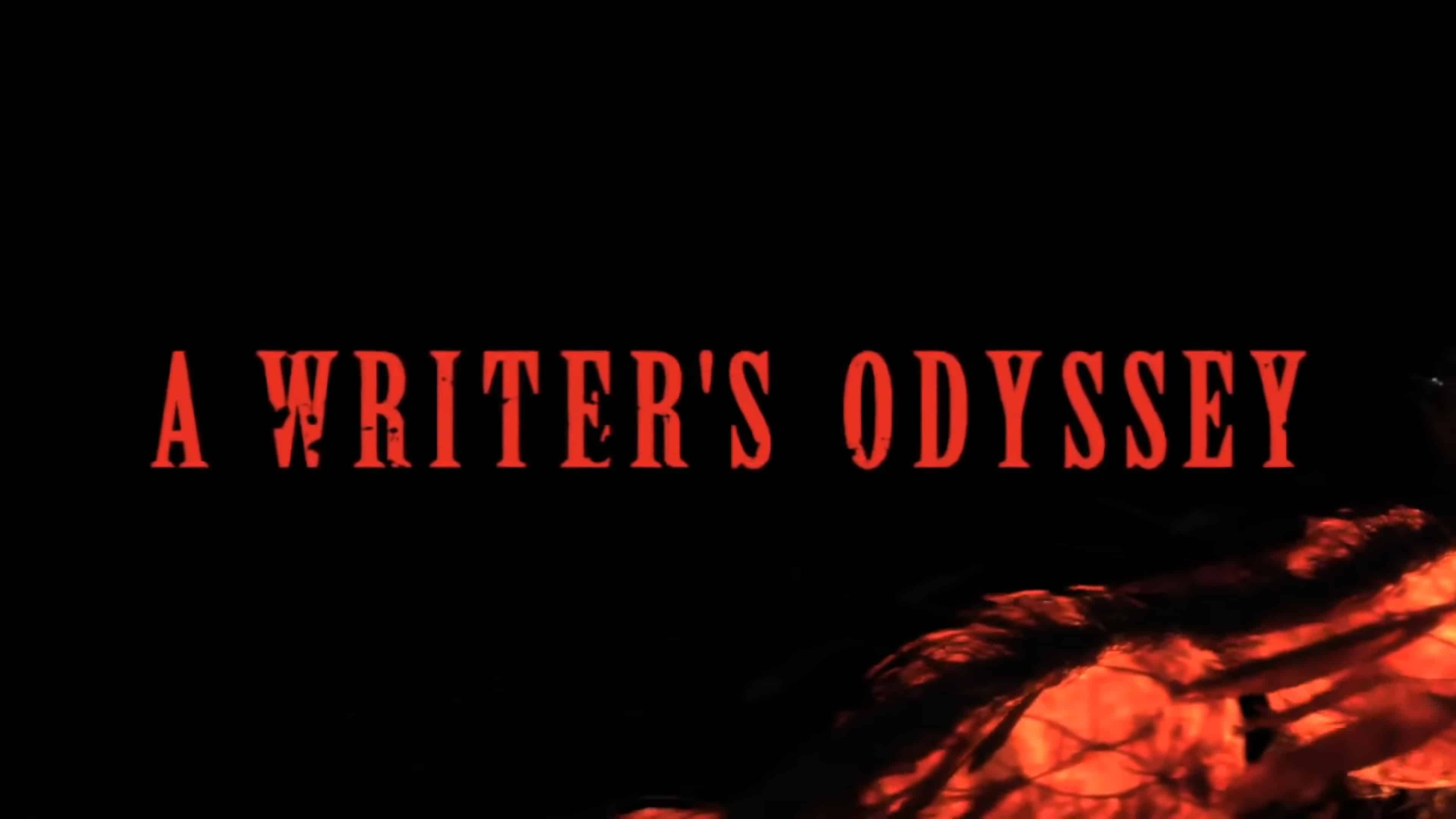 Title Card - A Writer's Odyssey (2021)