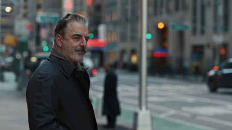William Bishop (Chris Noth) looking off towards Robyn