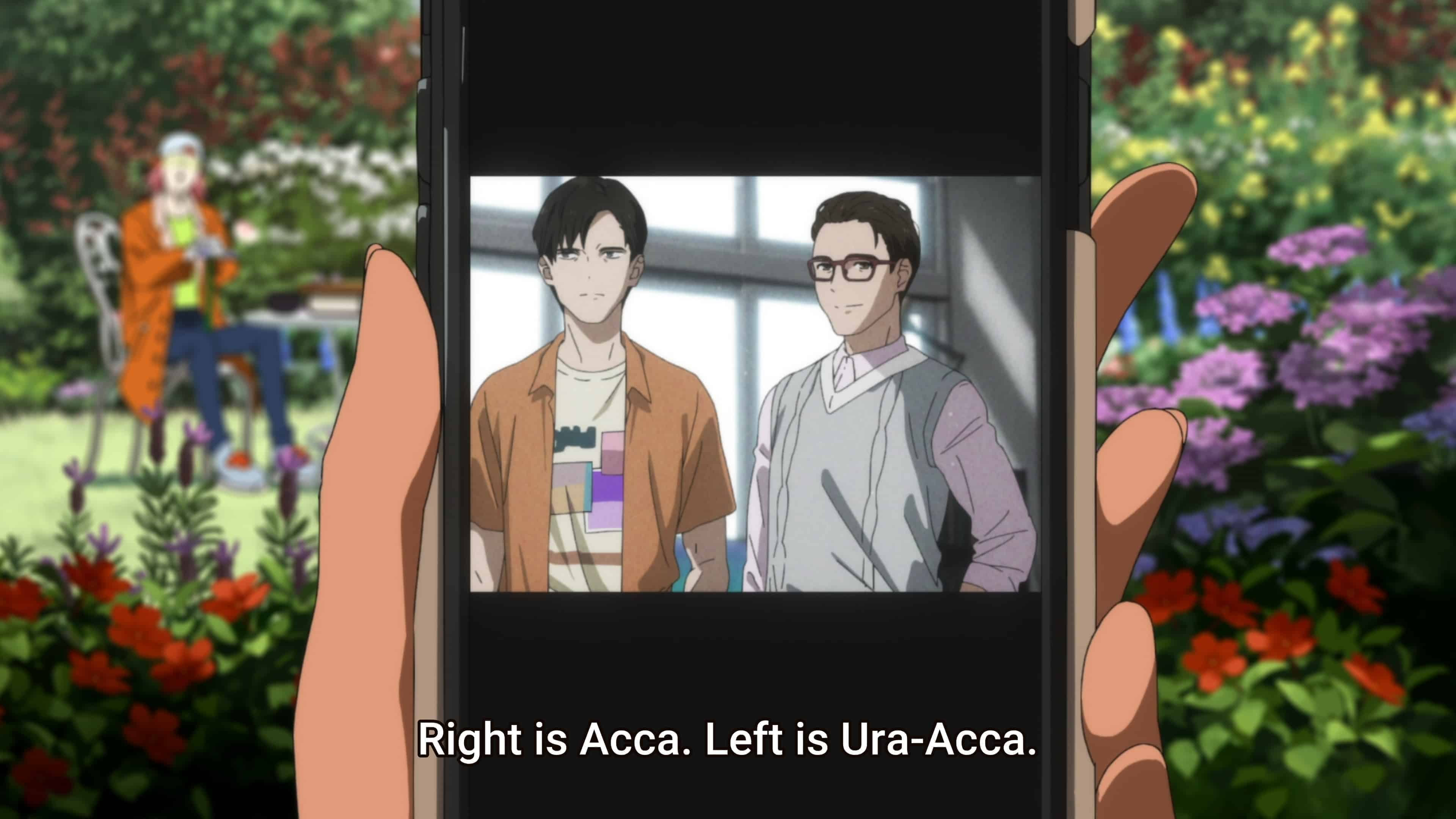 Acca and Ura-Acca when they had bodies