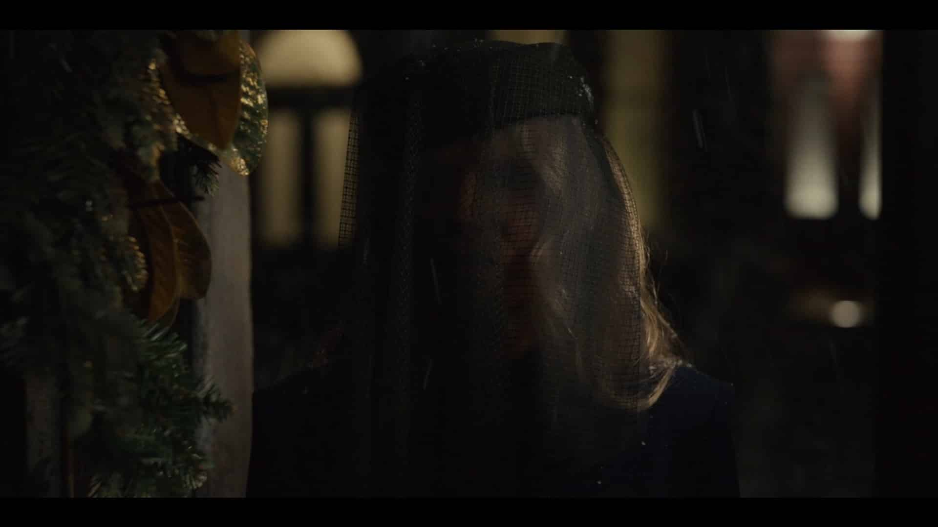 Aunt Josephine (Barbara Sukowa) showing up at Sean's doorstep