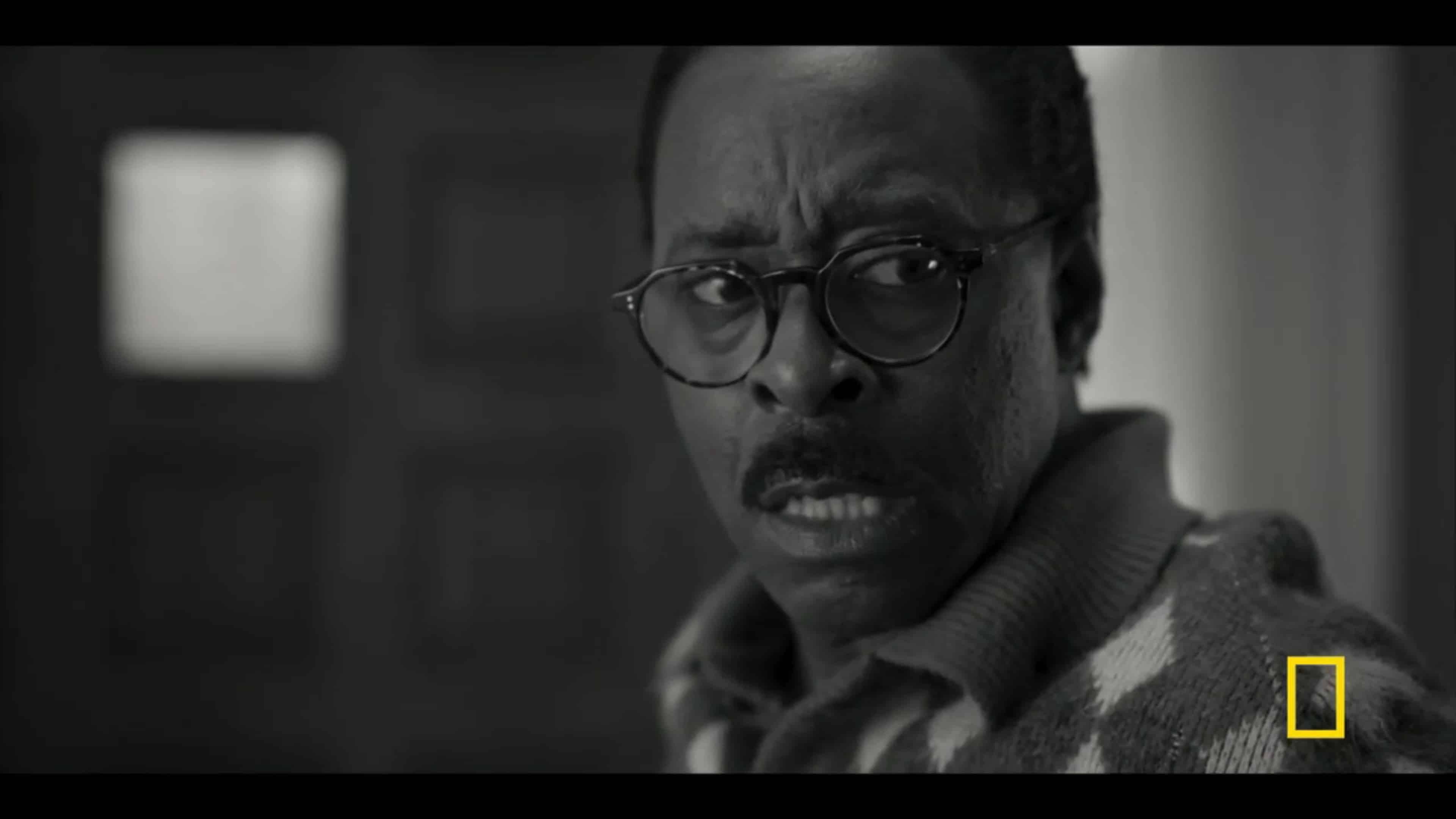 C.L. Franklin (Courtney B. Vance) after smacking a woman and seeing Little Aretha witnessing it