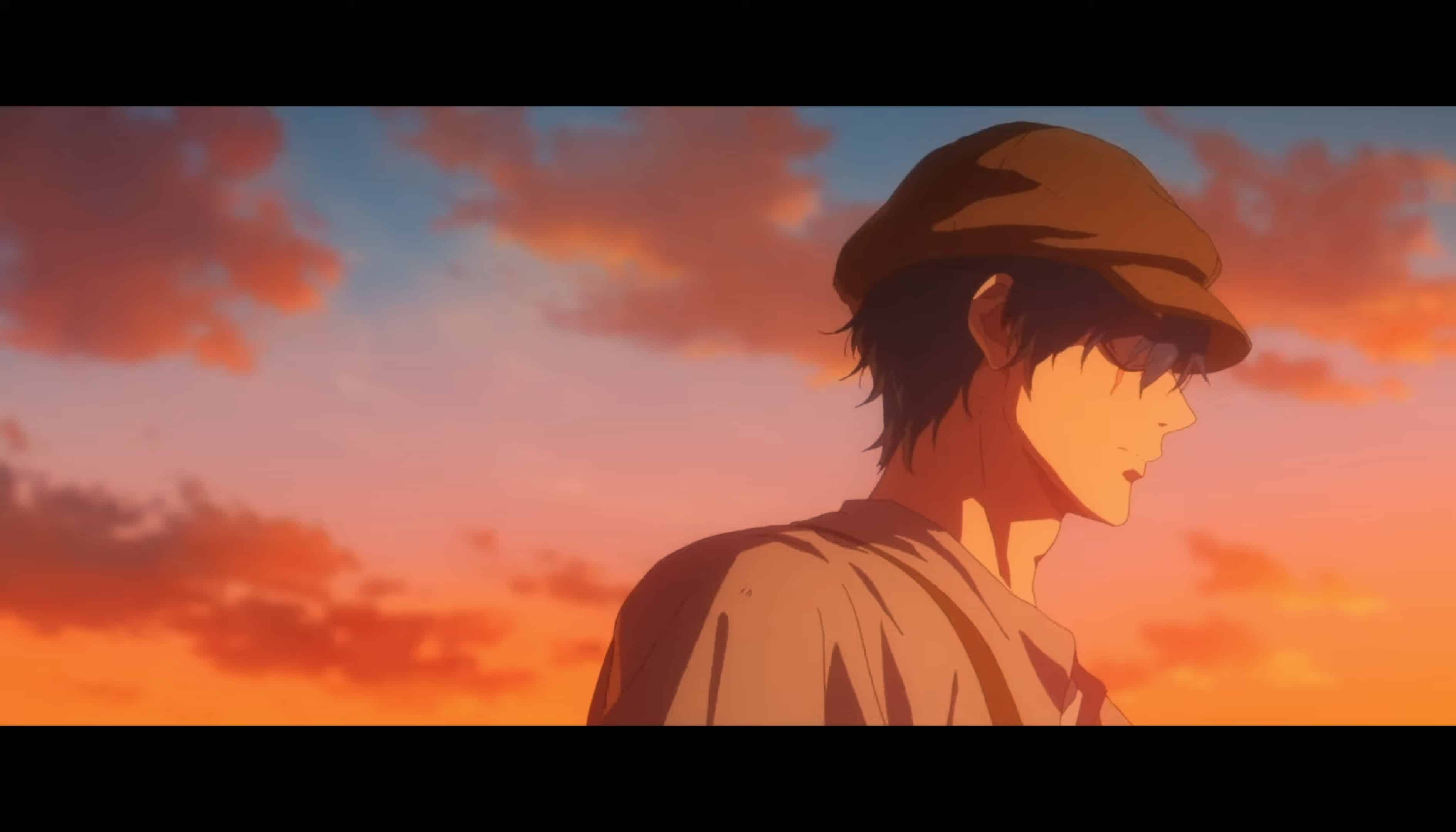 Gilbert (Kiuchi Hidenobu) being moody