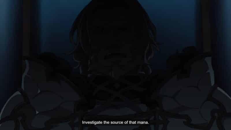 Lord Perugius (Rikiya Koyama) telling Almanfi to investigate