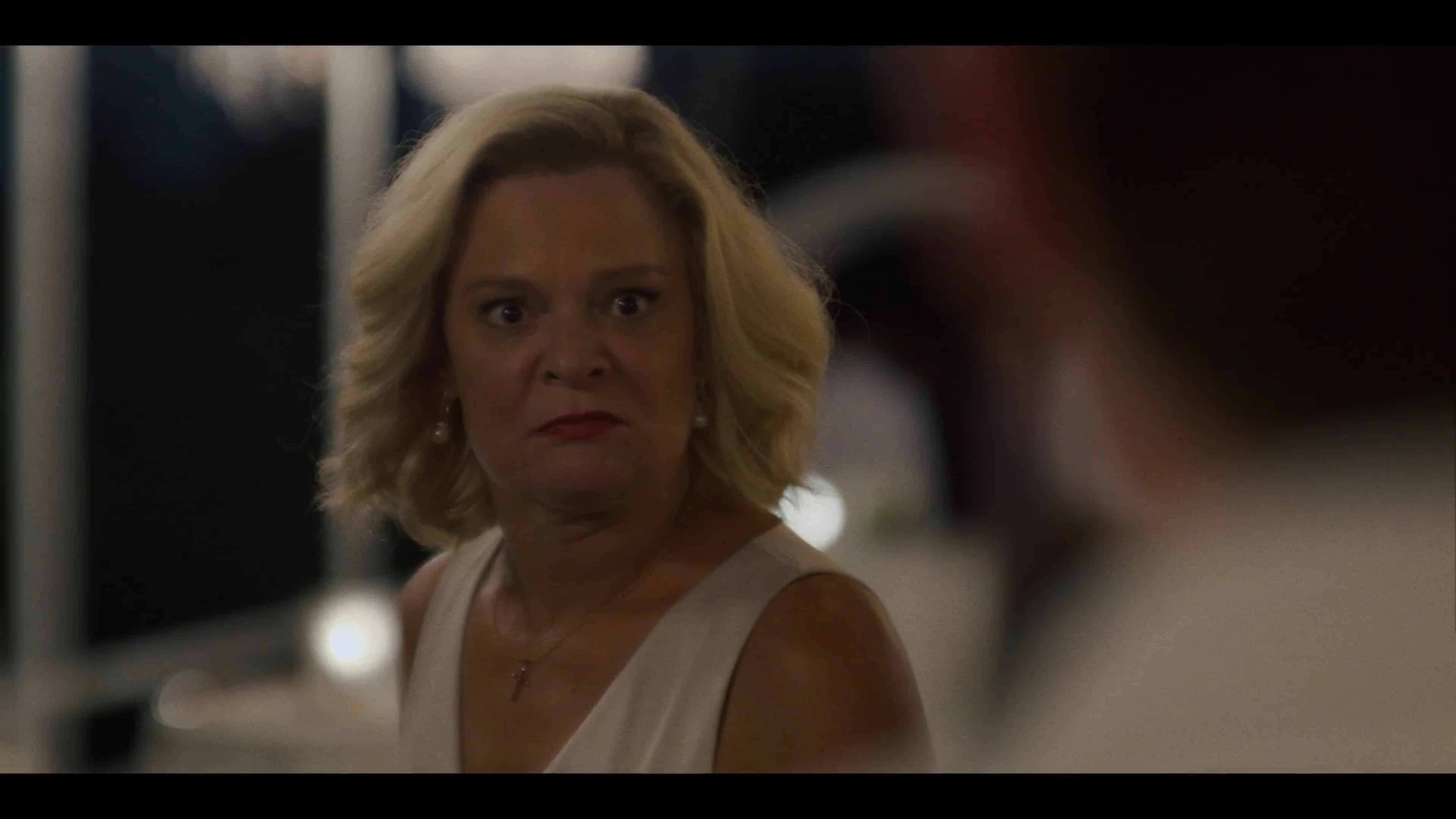Megan (Martha Plimpton) reacting to Nathan