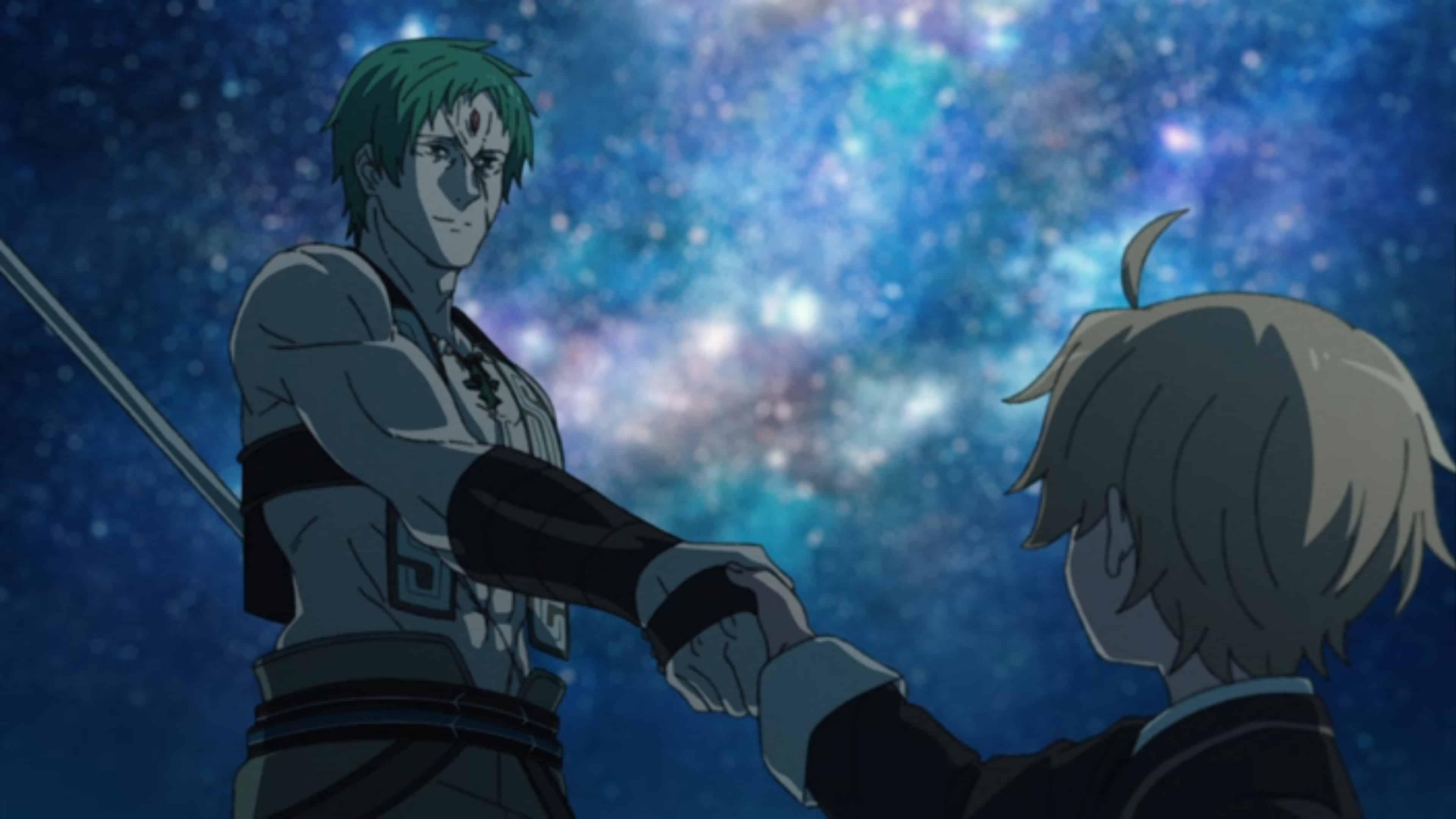 Ruijerd and Rudy shaking hands