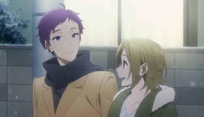 Toru and Yuki hanging out on Christmas