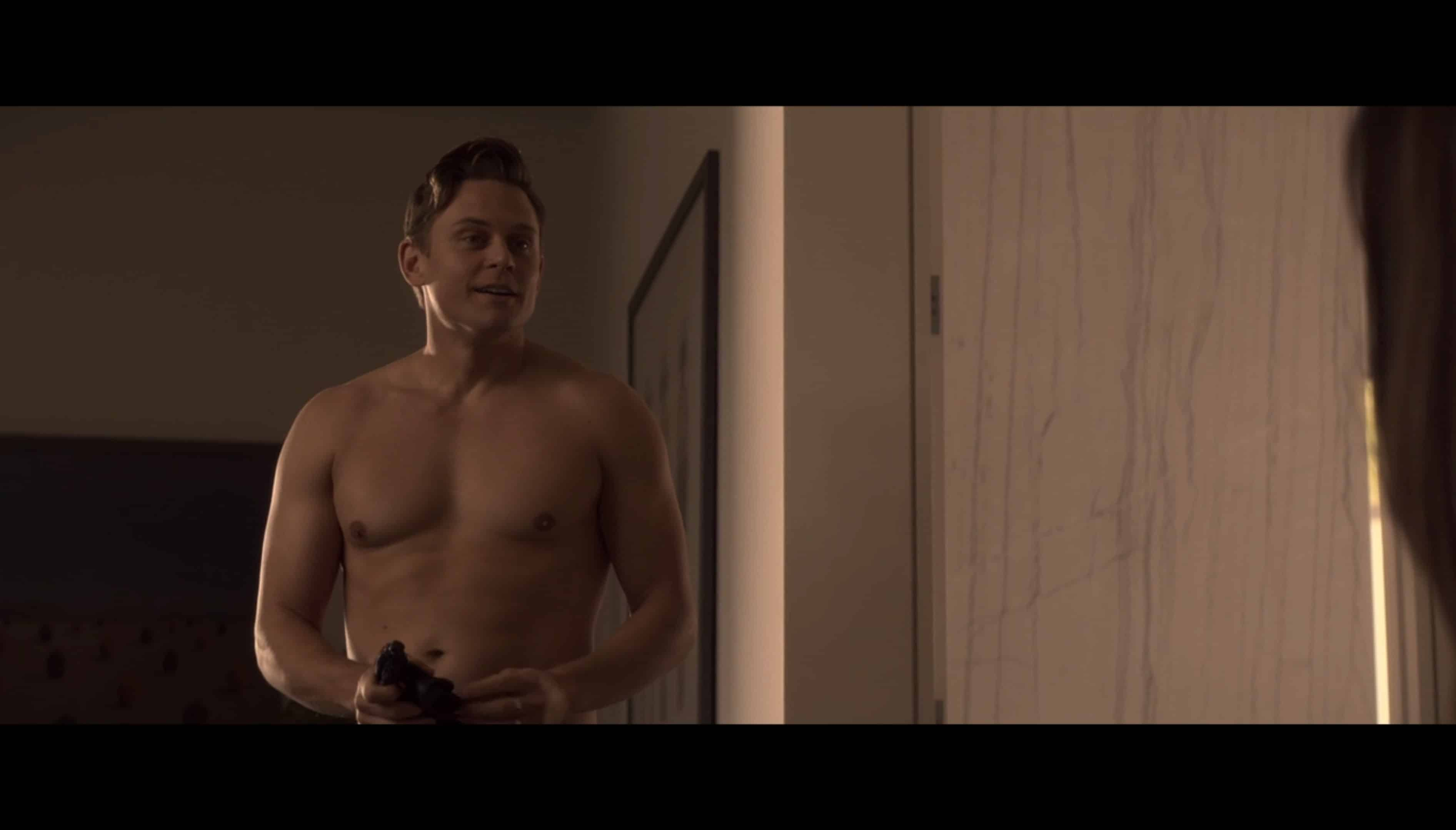 Bryon Gogol (Billy Magnussen) after sex with Hazel