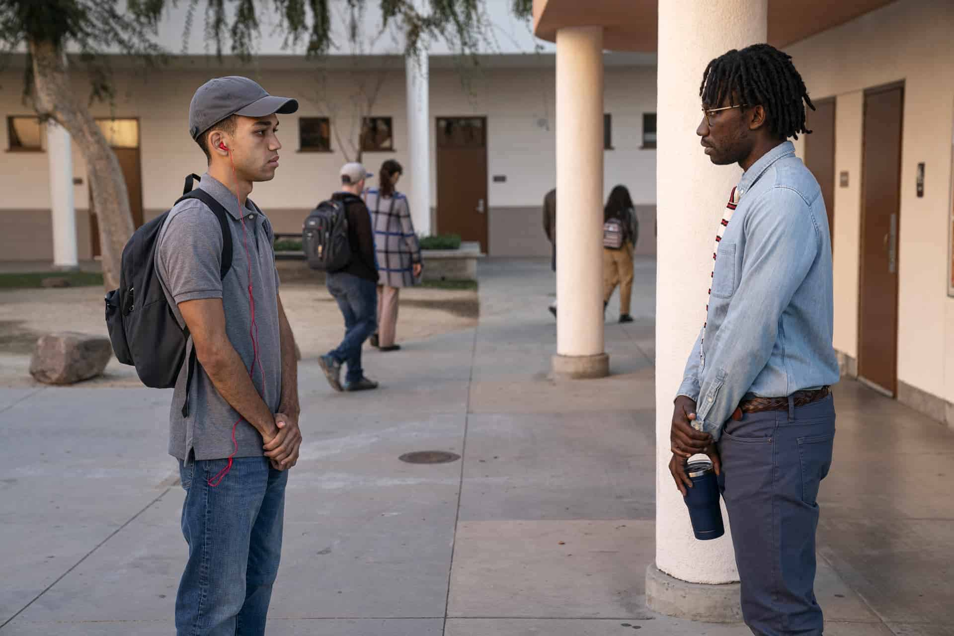 Chester learning Sam will no longer be his guidance counselor